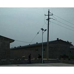 乡村太阳能路灯厂家、太原宏原户外照明、山西太阳能路灯图片