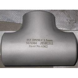 不锈钢三通,三通,龙浩翔管件专业生产(查看)图片