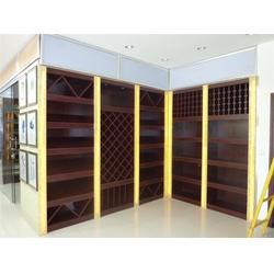 烟酒展柜制作厂、优特展示设备、南通烟酒展柜图片