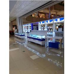 工艺品展示柜柜台、南京优特展示设备厂家、苏州工艺品展示柜图片