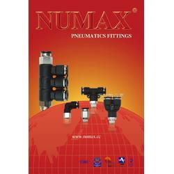 PUED异径五通形分气块气动接头进口NUMAX中国总部可替SMC CKD图片