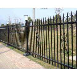 工厂铁艺围墙|兴国铁艺围墙|铁艺围墙图片