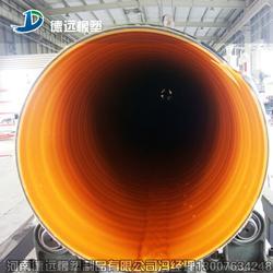 建筑工程排污管厂家钢带波纹管施工方案图片