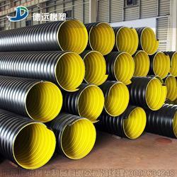 钢带波纹管材质高性价比PE排污管图片