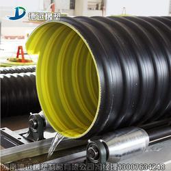 高密度聚乙烯钢带增强波纹管厂家案例图片