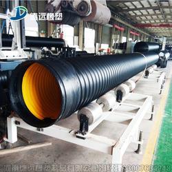 供应钢带增强波纹管钢带地埋排污管厂家图片