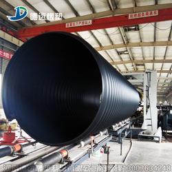 现货供应地埋排水管钢带波纹管厂家图片