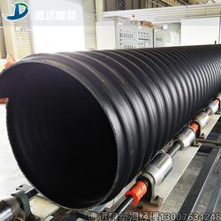 水电站排水管厂家钢带缠绕管纯原料图片