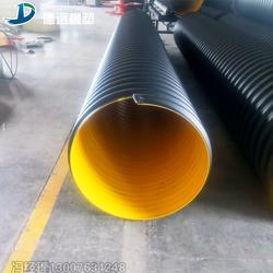 hdpe排水管钢带缠绕管行情图片