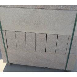 旺源石材厂家 优质五莲红路边石-五莲红路边石图片