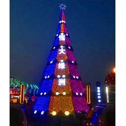 圣诞树-大型加密圣诞树厂家-铁艺框架圣诞树厂(优质商家)图片