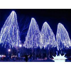 树绕灯-元旦树绕灯-树绕灯灯串安装图片