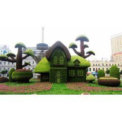 大型广场绿雕-东胜天地-大型广场绿雕加工图片