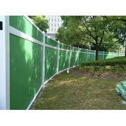 【施工围挡】经营安装PVC工程围挡、工地围挡、施工围墙图片