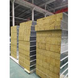 岩棉夹芯板 彩钢岩棉夹芯板规格 岩棉夹芯板厂家图片