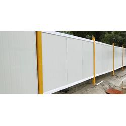 PVC围墙,工地施工围挡规格图片