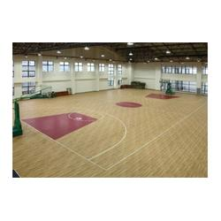 实木运动地板施工安装-滁州实木运动地板-南京篮博(查看)图片