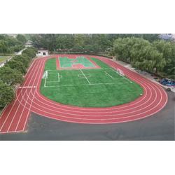 定制学校塑胶跑道、南京篮博体育、马鞍山学校塑胶跑道图片