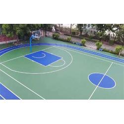 耐磨硅pu球场生产厂家-南京耐磨硅pu球场-篮博(查看)图片
