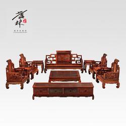 淮安红木家具-江苏虞林世家精品红木-红木家具厂家图片