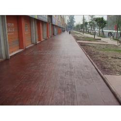 彩色地坪彩色路面样式新颖图片