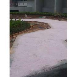 肥城压模地坪压模路面材料厂家直销图片