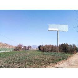 文山小型单立柱广告牌设计-单立柱广告牌-林峰广告传媒图片