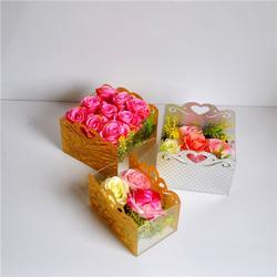 花盒_鲲翔亚克力品种齐全_定制亚克力玫瑰花盒图片