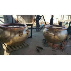 六盘水铜水缸、恒天铜雕、铜水缸铸造图片