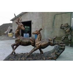青铜动物雕塑|湖北动物雕塑|恒天铜雕(查看)图片