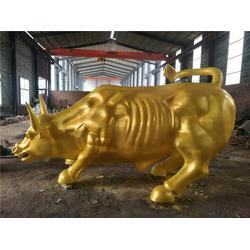 开拓牛雕塑铸造厂-恒天铜雕图片