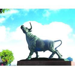 铸铜牛加工、恒天铜雕、辽宁铸铜牛图片