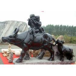 河南开荒牛雕塑铸造厂-恒天铜雕(在线咨询)图片