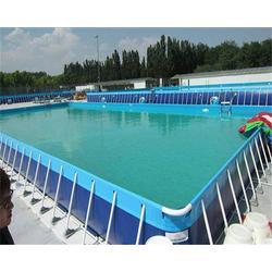 自贡支架游泳池、【海纳游乐】、支架游泳池图片