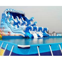 中小型移动水上乐园多少钱厂家-海纳游乐设备厂图片