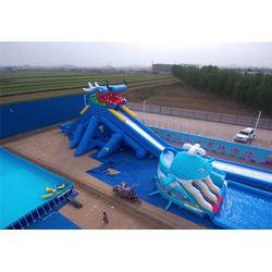 蚌埠移动水上乐园-海纳游乐设备-移动水上乐园报价图片