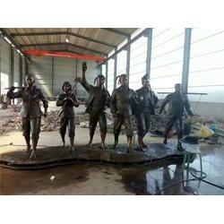 定制西洋人物雕塑厂家、恒天铜雕厂家图片