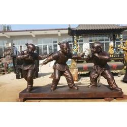 恒天铜雕(多图)|鲁智深铜像图片