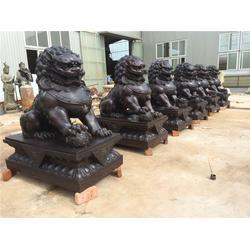 恒天铜雕|上海铜狮子雕塑|铜狮子雕塑铸造图片
