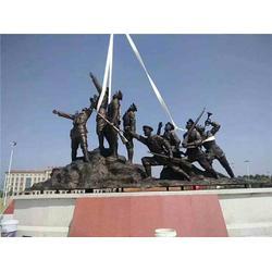 大型西洋人物雕塑厂家_恒天铜雕厂家图片
