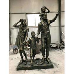 园林小品人物雕塑,福建人物雕塑,恒天铜雕(查看)图片