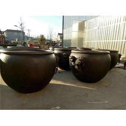 铜大缸,恒天铜雕,1.2米铜大缸图片