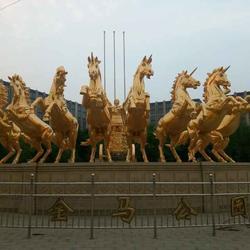 河北铜马,镀金铜马,恒天铜雕(多图)图片