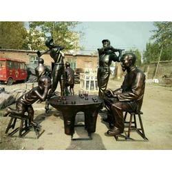 大型现代人物雕塑厂家、恒天铜雕厂家(优质商家)图片