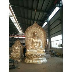十八罗汉铜像厂家 恒天铜雕图片