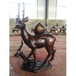 恒天铜雕厂家(查看)_江苏园林铜雕鹿图片
