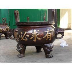 恒天铜雕(图)、铜铁圆香炉、香港铜铁香炉图片