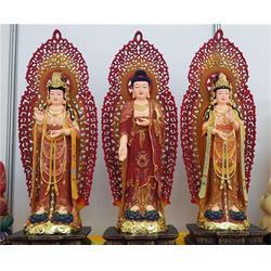 娑婆三圣铜像加工,娑婆三圣铜像,恒天铜雕图片