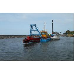 挖泥船-青州百斯特环保机械 河道挖泥船图片