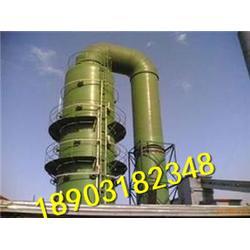 玻璃钢锅炉脱硫塔 砖厂专用脱硫除尘设备厂家定做直销图片